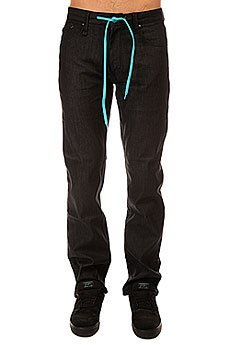 Штаны прямые Altamont Fairfax Black Raw
