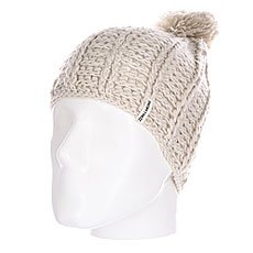 Шапка женская Billabong Winter Crossing White Cap