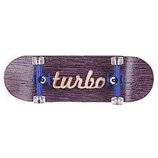 Фингерборд Turbo-FB П10 Гравировка Purple/Blue/Clear