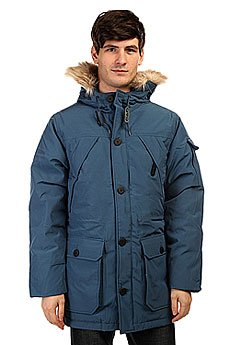 Пуховик Penfield Hoosac Ff Hooded Down Mountain Parka Petrol