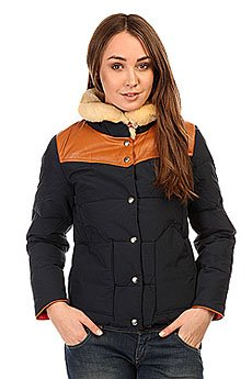 Пуховик женский Penfield Rockwool Jacket Classic Navy