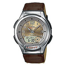 Часы Casio Collection 36935 Aq-180Wb-5B Brown/Grey