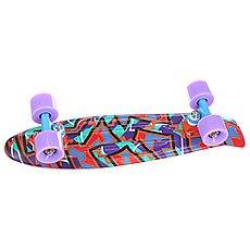 Скейт мини круизер Penny Original Purple/Orange 22 (55.9 см)