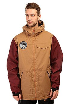 Куртка Thirty Two Sesh Jacket Clove/Brown