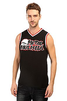 Майка Metal Mulisha Genuine Black/Red
