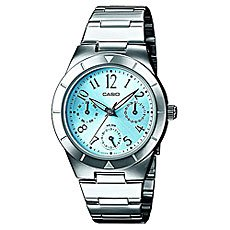 Часы Casio Collection Ltp-2069d-2a2 Silver/Blue