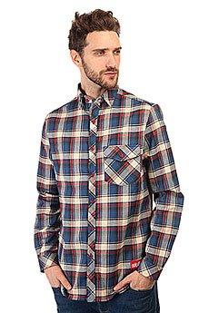 Рубашка в клетку Skills Check Shirt Blue/Red/Beige