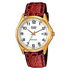 Часы Casio Collection Mtp-1188pq-7b Gold/Red