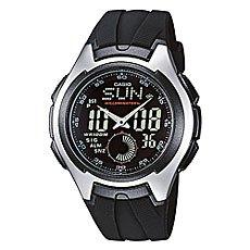 Часы Casio Collection Aq-160w-1b Black/Grey
