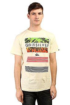 Футболка Quiksilver Classic Tee Linup Tees Transparent Yellow
