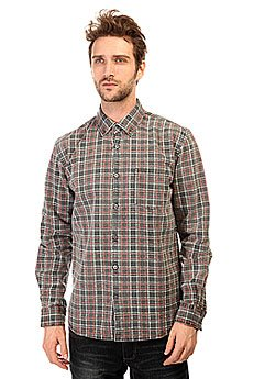 Рубашка в клетку Quiksilver Prelock Ls Wvtp Prelock Anthracite
