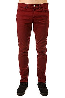 Джинсы узкие DC Colour Slim Jea Pant Syrah