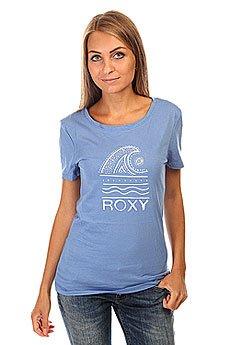 Футболка женская Roxy Itty Doty Wave J Tees Morning Sky