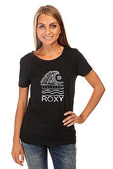 Футболка женская Roxy Itty Doty Wave J Tees True Black