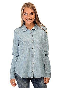 Рубашка женская Roxy Camera J Wvtp Light Blue