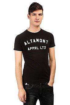 Футболка Altamont Nongame Tee Black/White