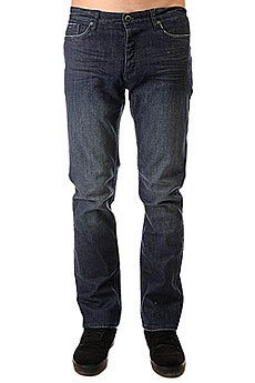 Джинсы прямые Etnies Straight Fit Denim Pant Heavy Vintage Wash