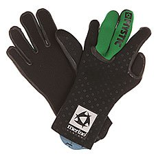 Перчатки (гидро) Mystic Merino Wool Glove Black