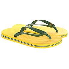 Вьетнамки Havaianas Brasil Yellow/Green