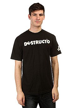 Футболка Destructo Logo Black