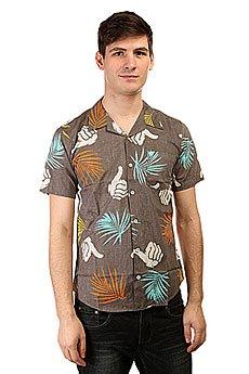 Рубашка Bro Style Tropic Print Shirt Charcoal