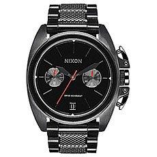 Кварцевые часы Nixon Anthem Chrono All Black