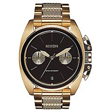 Кварцевые часы Nixon Anthem Chrono Gold/Black
