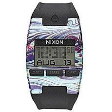 Электронные часы Nixon Comp Marbled Multi/Black