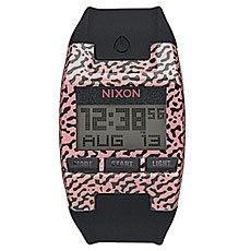 Электронные часы Nixon Comp S Hot Coral Amoeba