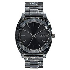 Кварцевые часы Nixon Time Teller Acetate Black/Silver/Multi