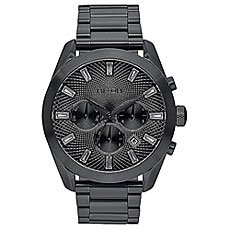 Кварцевые часы женские Nixon Bullet Chrono Crystal All Black