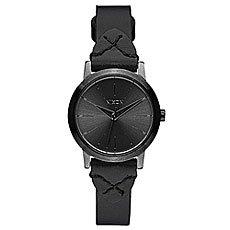 Кварцевые часы женские Nixon Kenzi Leather Black/Bridle