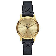 Кварцевые часы женские Nixon Kenzi Leather Gold/Bridle