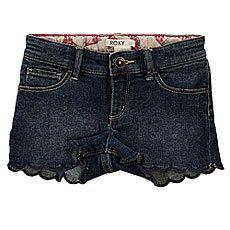 Шорты джинсовые детские Roxy Into K Dnst Dark Blue