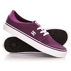 Кеды низкие женские DC Trase Tx Shoe Purple Wine