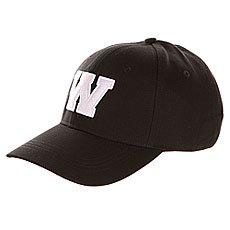 Бейсболка классическая TrueSpin Abc Baseball Cap Black W