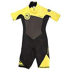 Гидрокостюм (Комбинезон) детский Quiksilver 2mm Syncr Black/Yellow