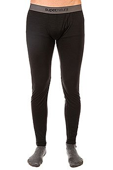 Термобелье (низ) Super Natural Base Tight 175 Black
