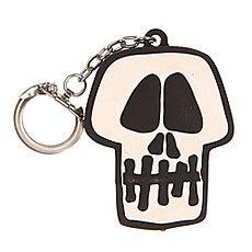 Брелок Stussy Skull Light Keychain Black