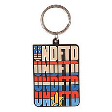 Брелок Undefeated Undftd Flags Keychain Black