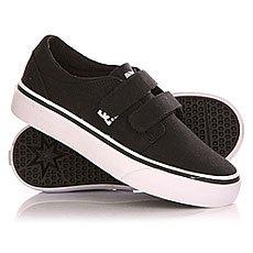 Кеды низкие детские DC Trase Tod V B Shoe Black/White