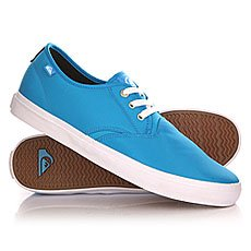 Кеды низкие Quiksilver Shorebreak Nylo Shoe Blue/White