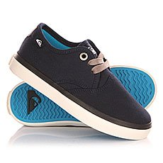 Кеды низкие детские Quiksilver Shorebreak B Shoe Blue/White