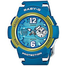 Кварцевые часы Casio Baby-G Bga-210-2B Blue/Green