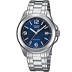Кварцевые часы Casio Collection Mtp-1259Pd-2A Grey/Blue