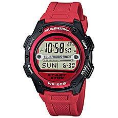 Электронные часы Casio Collection W-756-4A Red/Black