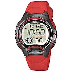 Электронные часы Casio Collection Lw-200-4A Red/Grey