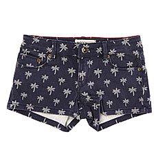 Шорты джинсовые детские Roxy Lysi Dnst Mini Little Palm Tre