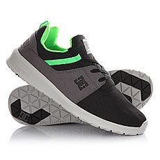 Кроссовки DC Heathrow M Shoe Black/Grey/Green