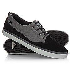Кеды низкие Quiksilver Beacon M Black/Grey/White